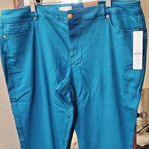 Coldwater Creek Denim Slim Leg Jean